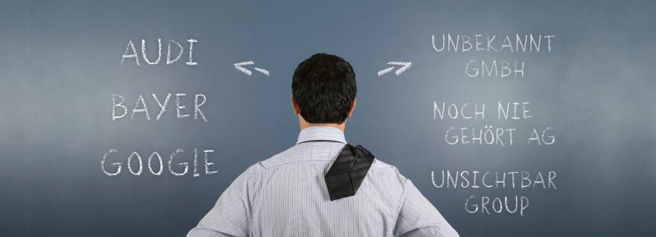 Sind Sie als Arbeitgeber unbekannt oder gar unsichtbar für Ihre Zielgruppe?